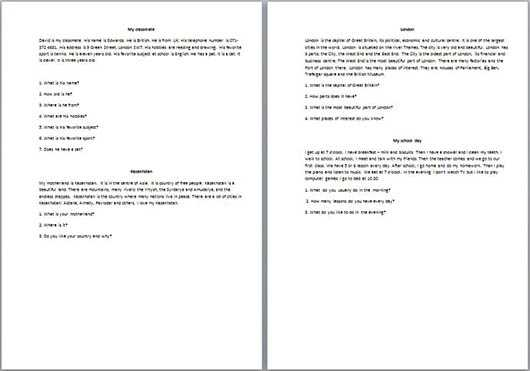 Английский язык 9 класс переводы текстов лапицкая